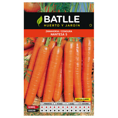 Batlle vegetable seeds - Carrot Nantesa 5 sel. Cilindro (10g)