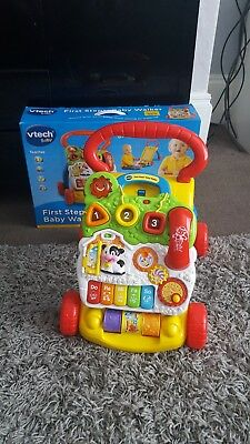 VTech First Steps Baby Walker excellent condition with box