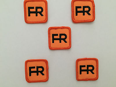 "Qty. 5 fr patches - 1 1/2"" Square.  Iron on or sew On."