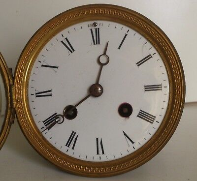 JAPY FRERES French Clock Movement Spares Repair