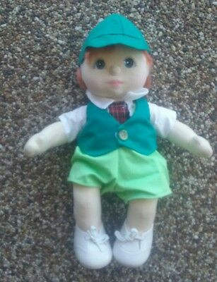 MY CHILD RED HEADED BOY DOLL US IN ORIGINAL OUTFIT with SHOES Mattel 1985