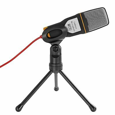 Tonor Pro 3.5mm Condenser Sound Podcast Studio Plug and Play Microphone