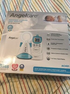 angelcare ac401 movement and sound baby monitor BNIB RRP £119