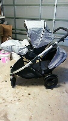 Strider Plus Double Compact Pram in exc condition Only used a couple of times..