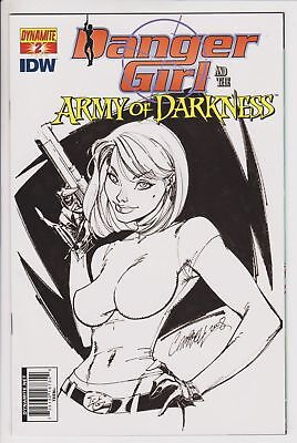 Danger Girl & the Army of Darkness #2 (July 2011 Dynamite) 1:10 Campbell Variant