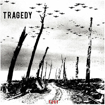 "TRAGEDY - FURY 12"" mLP, new in 2018, from ashes rise, his hero is gone, victims"