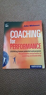 Coaching For Performance - John Whitmore What the CEO wants you to know - R Char