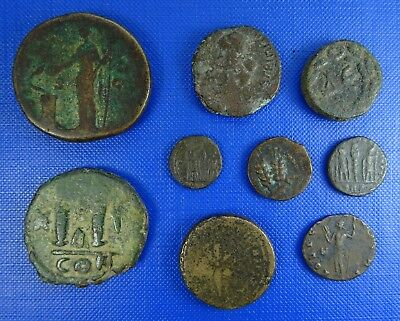 Roman & Provincial, Greek, Byzantium AE Study Group  x 9 - 13 to 31mm Sestertius