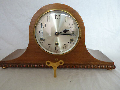 WESTMINSTER CHIME MANTEL CLOCK  Full working order
