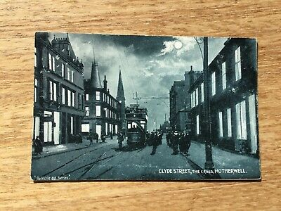 Postcard - Clyde Street, The Cross, Motherwell