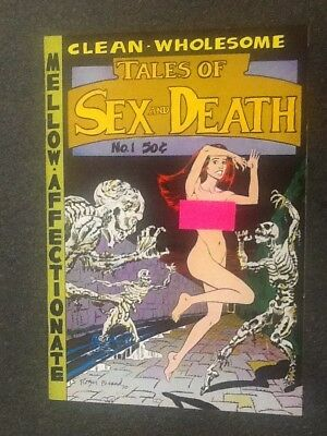 Tales of Sex and Death #1 (1971, The Print Mint), by Various Artists. Fine/VF.