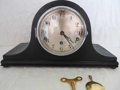 WHITTINGTON WESTMINSTER CHIME MANTEL CLOCK  Full working order