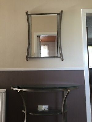Pierre Vandel Mirror And Console Table