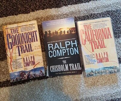 3 books by Ralph Compton - used (Paperback)