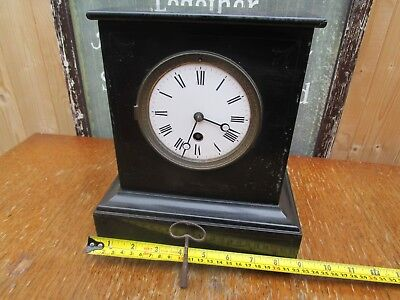 French Slate/marble Clock? Working With Key