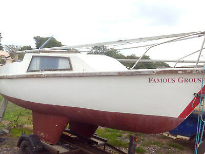 17ft Pirate (Proctor)yacht 4 berth good ready to sail