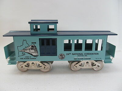 McCoy Standard 1978 24th TCA New England Div. Home of the Flying Yankee Caboose