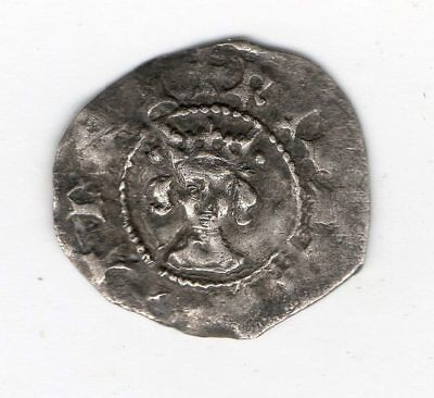 Metal detector find hammered silver coin