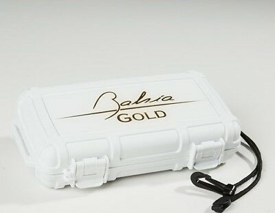 Herf A Dor X5 White Five 5 Cigar Travel Case Humidor - Bahia Gold Edition - New