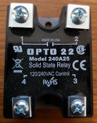 Solid State Relay Opto 22 240V A25 Hableiterrelais