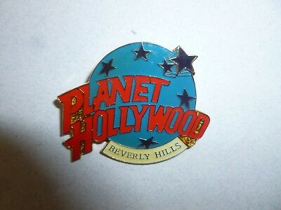 Planet Hollywood RestaurantBeverly Hills Hat Lapel Jewelry Star Pin Vintage 90s