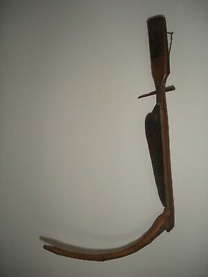 Rare Antique Southeast Asian Rice Harvesting Ethnic Farming Tool