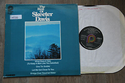 LP - SKEETER DAVIS - The Best Of Skeeter Davis
