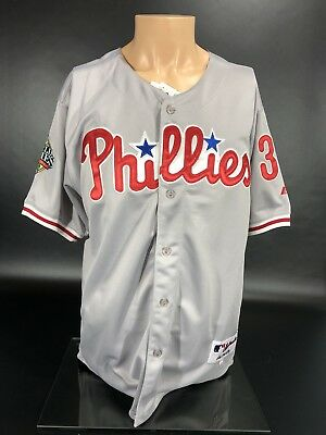 NWT Majestic Authentic Philadelphia Phillies COLE HAMELS 08 World Series Jersey