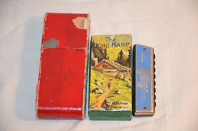 3 x Vintage M. Hohner  Harmonica in Germany