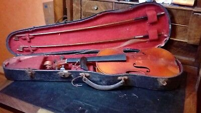 ancien violon paul Beuscher Paris  copie Antonius stradivarius cremonenfis 1721