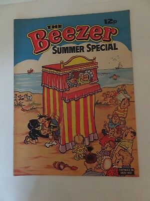 The Beezer Summer specials x 3 - 1974, 1975 & 1976