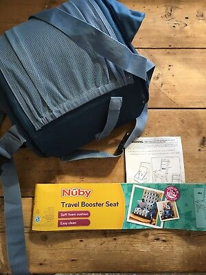 Nuby Pop N Sit Folding Booster Safety Harness