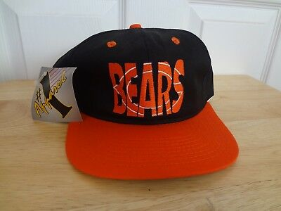 Vintage Chicago Bears SnapBack Hat Cap 80s 90s Apparel #1 NEW NWT NFL