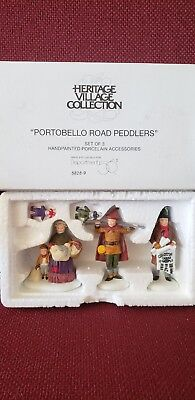 "Department 56 Dickens' Village Portobello Road Peddlers"" accessory"