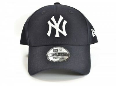 New Era 9FORTY MLB New York Yankees The League Navy Curved Peak Hat Baseball Cap