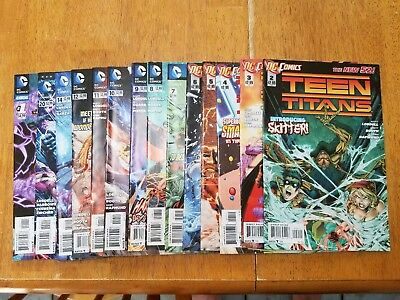 Teen Titans New 52 lot of 14 issue VF/NM
