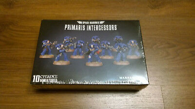 SPACE MARINES - Primaris Intercessors -NEU&OVP-10x CITADEL Miniatures Warhammer