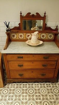 Old Victorian Wash Stand