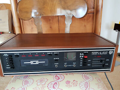 Scandia IC RS-83 8-Track Player/Recorder in gutem Zustand!