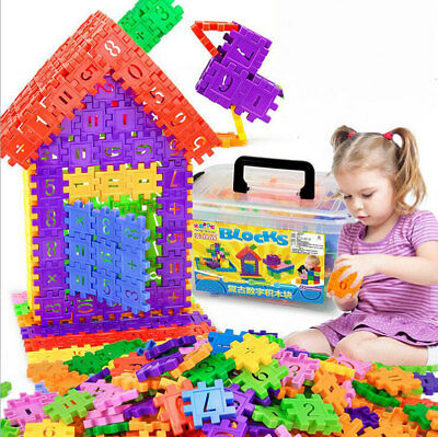 110pcs Baby Kids DIY Building Blocks Intelligence Puzzle Children Toy Games