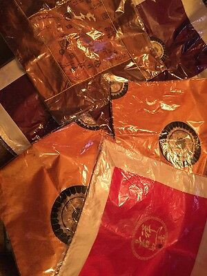 Six Thai Silk Cushion Covers Brand New In Packaging Lovely Colours & Cool Silk