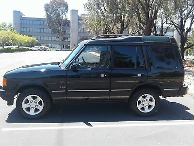 1998 Land Rover Discovery LSE CLEAN 2-OWNER CALIFORNIA LAND ROVER DISCOVERY I LSE 7 SEATER 130K 4.0 CLASSIC D1