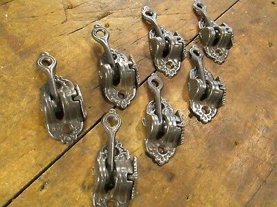 Set  Of  Seven   Antique  Window  Sash  Locks