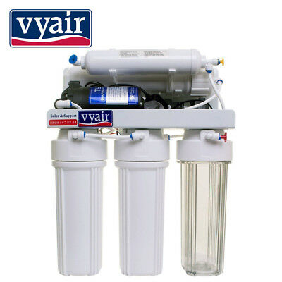 VYAIR 50GPD Pumped 5-Stage Reverse Osmosis Kitchen Drinking Water Filter System