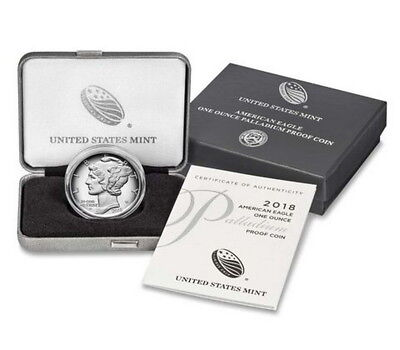 2018 1oz Palladium Eagle $25 Proof / in OGP / Coin sold out @ US Mint