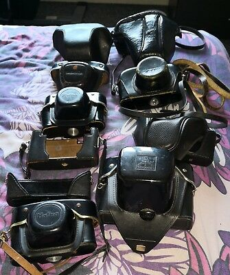 Vintage Film Camera Cases joblot