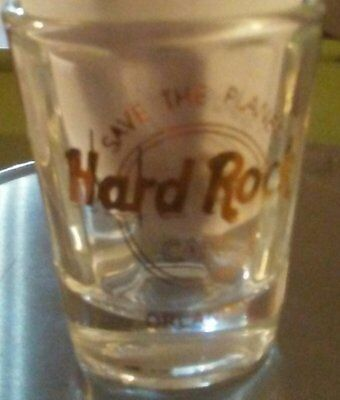 Collectible Hard Rock Cafe Save the Planet Shot Glass