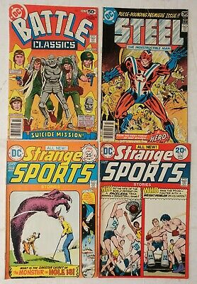 DC-Strange Sports Stories #4,6-1974-First Prints