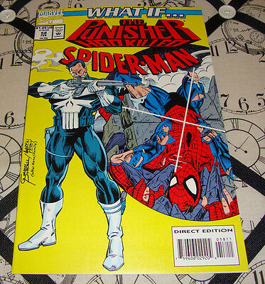 What If... The Punisher Had Killed Spider-Man #58 (Feb 1994) Marvel Comic VF