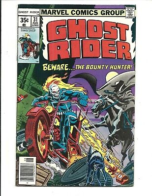 GHOST RIDER (Vol.1) # 31 (CENTS ISSUE, AUG 1978), VF
